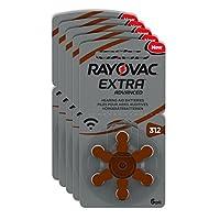 Rayovac Extra 312 No 6'lı Kulaklık Pili 5'li Ekonomik Paket