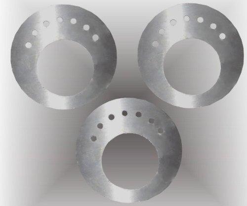3er-Set Ethanol-Sparplatten aus Edelstahl / Für Gelkamine & Ethanol-Kamine / 2-3 x längere Brenn-Dauer / Sparsamer Verbrauch Ihres Brennstoffs (Brenngel oder Bio-Ethanol)