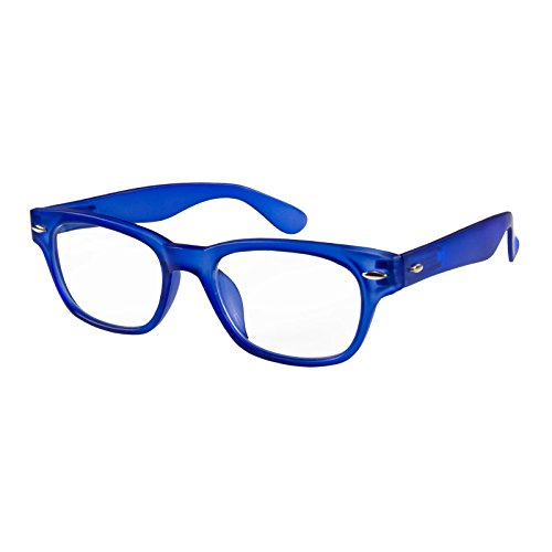 Lesebrille/Fertiglesebrille WOODY von I Need You (+2.0, blau)