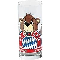 cruche, jug mug Glas Schnapsseidel Logo FC Bayern M/ÜNCHEN Munich jarra Schnapsglas