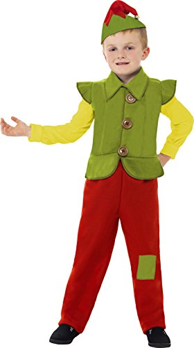 Smiffy's 24246M Zwergenkostüm für Kinder, M (7 Zwerge Kostüm Niedlich)