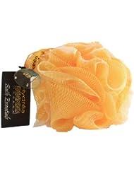 Large Fleur de Douche Exfoliante Jaune de Qualité Supérieure