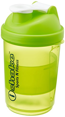 IShake 020 Smart One Storage Bottle, 500 ml , (Green/White)  available at amazon for Rs.254