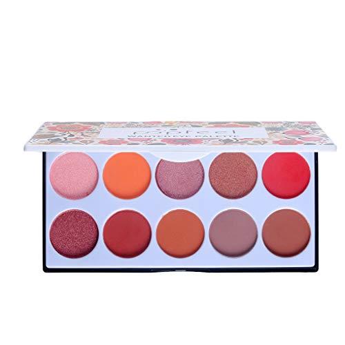 Aiming 10 Farben Lidschatten-Puder-Paletten-Matte Augen Shimmer Glitter Frauen-Mädchen-Augen-Make-up-Palette -