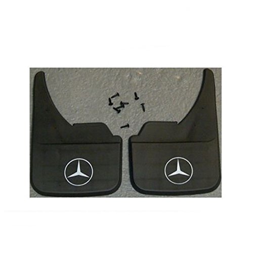 Mercedes Logo CLA Class Universal Car Mudflaps Front, used for sale  Delivered anywhere in UK