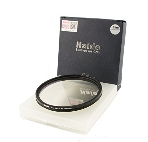 HAIDA Slim Pro II MC Optical GND Verlaufsfilter 0,9 (8X) (12,5%) - 62mm - inkl. Cap