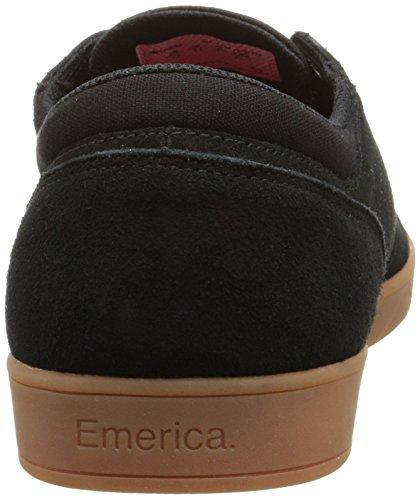 Emerica The Figueroa, Skateboard homme Noir (Black/Gum/964)