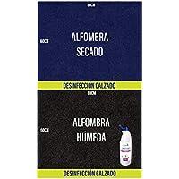 OBLITE Alfombra desinfectante + Limpiador Higienizante (x2), Felpudo Desinfectante para Entrada (80 x 60cm)