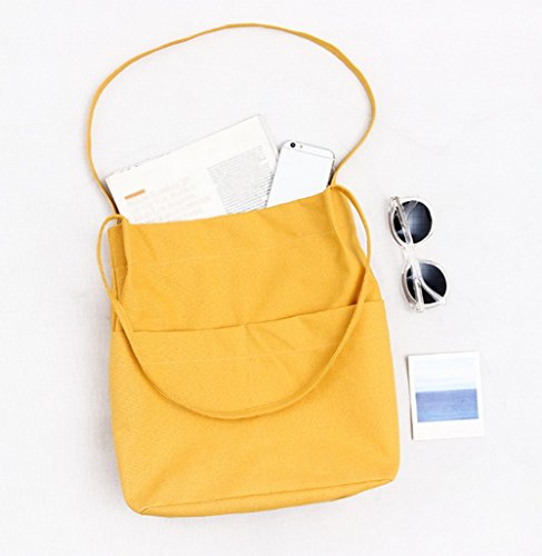 LAAT, Borsa a spalla donna As picture show 34*36*6 Yellow
