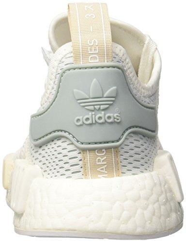 adidas Damen Nmd_r1 Traillaufschuhe Weiß (Ftwr White/ftwr White/tactile Green)