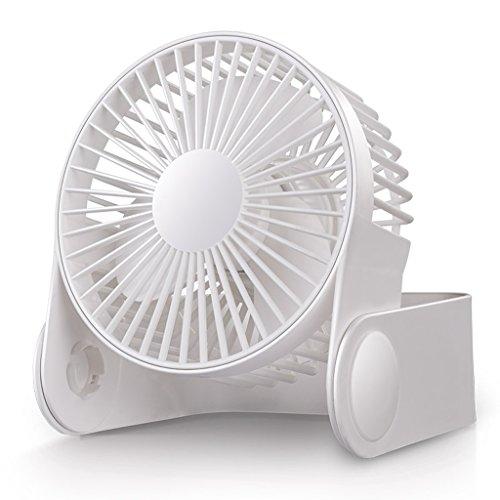 Desktop USB Mini Fan Portable 2 Geschwindigkeit einstellbar 45 ° Kühlung Home Office Fan