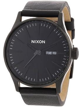 Nixon Herren-Armbanduhr Analog Leder A105001-00