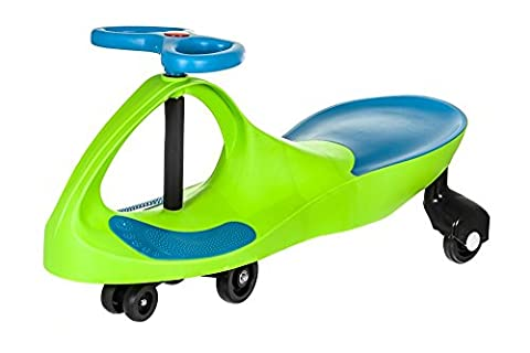 SWING CAR RIDE ON SWIVEL SCOOTER CHILDRENS TOY KIDS WIGGLE GYRO TWIST & GO INDOOR OUTDOOR ☆FREE NEXT DAY DELIVERY☆SAME DAY DISPATCH BEFORE 2PM☆