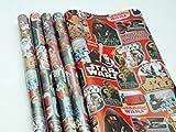 Star Wars Geschenkpapier 2m x 70 cm 4 Rollen Star Wars Geschenkpapier