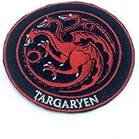 Game Of Thrones Sew Hierro en Remiendo Bordado es Targaryen Cosplay