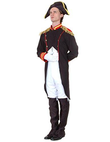 Preisvergleich Produktbild Napoleon-Kostüm für Herren Taille L