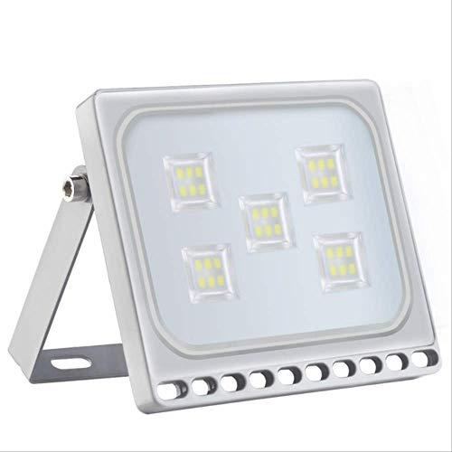 PMWLKJ führte Flutlicht 10w 20w 30w 50w Flutlicht geführte Scheinwerfer-Projektor-Reflektor-Wand-Lampe im Freien 10W geführtes Flutlicht kaltes Weiß -