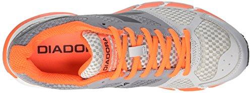 Diadora Herren M.Shindano Plus Wettkampfschuhe Multicolore (C2418 Grigio/Arancio)
