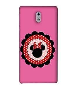 Fuson Designer Back Case Cover for Nokia 3 Andriod (love miles distance success inspiration)