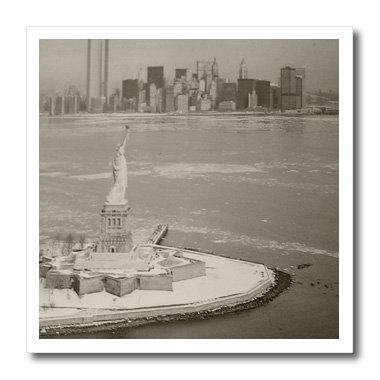 3drose HT _ 17211_ 1Vintage Statue of liberty-iron auf Wärmeübertragung für weiß Material, 820,3cm