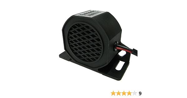 Yuesonic 102db White Noise Backup Alarm Rückfahrwarner Mit Für 12 24 V Fahrzeuge Auto