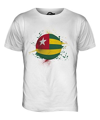 CandyMix Togo Fußball Herren T Shirt Weiß