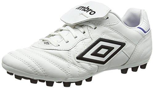 Umbro Herren Speciali Eternal Pro Ag Fußballschuhe Weiß (Daz-White/Black/Clematis Blue)