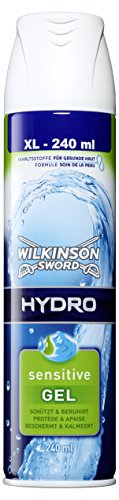 Wilkinson Sword Hydro Rasiergel Sensitive, 2er Pack (2 x 240 ml)