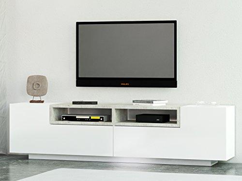 """TV-Lowboard Fernsehtisch Unterschrank HiFi-Rack Schrank Sideboard """"Treviso I"""" 200 cm"""