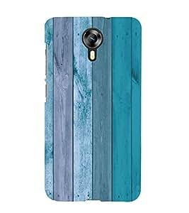 Fiobs Designer Back Case Cover for Micromax Canvas Xpress 2 E313 (Wood Plant Trees Multi Color Beautiful Blue)