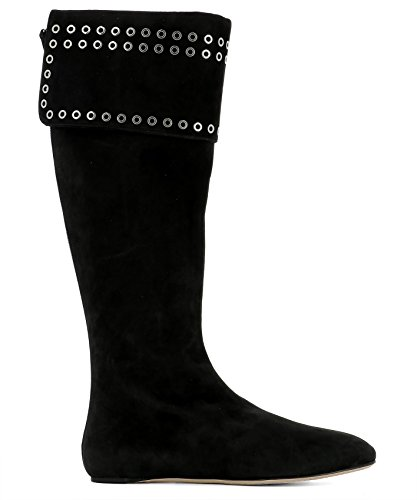 Alexander-McQueen-Womens-485795WHQV11000-Black-Suede-Boots
