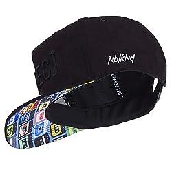 Nebelkind Unisex Snapback Cap Rec2 Kassetten Kappe Schwarz One Size