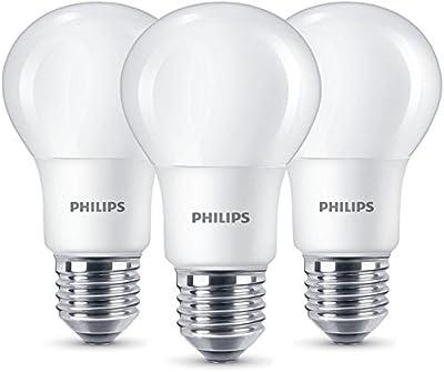 Philips - Bombilla LED estándar, casquillo E27, equivalente a 60 W, no regulable