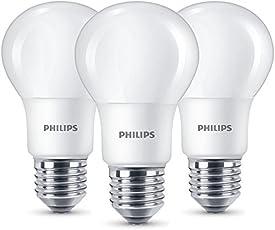 Philips LED Lampe Ersetzt 60W, EEK A+, E27, Warmweiß (2700K),