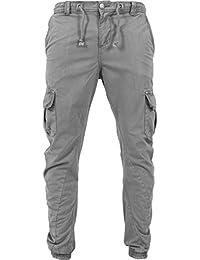 Urban Classics Herren Hose - Cargo Jogging Pants, lange Cargohose eng für Männer und Jungen aus 100% Baumwolle - SLIM FIT (Freizeit, Jogging, Arbeit)