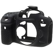 Easycover ECC7D2B - Funda de silicona para Canon 7D Mark II, color negro
