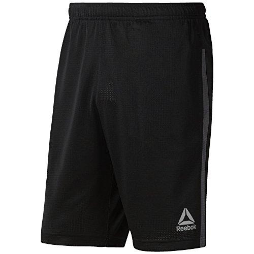 Reebok Golf Shorts (Reebok Herren Men's Workout Ready Mesh Short, schwarz, Medium)
