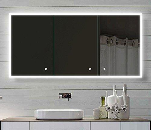 Spiegelschrank LED Bad Blum, 140 cm