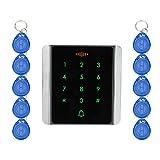 OBO Hände RFID Standalone Access Control Touch Wasserdicht Tastatur Elektronisches Türschloss Keyless-Schrank Schloss für Sicherheit Tür Lock System (C86)