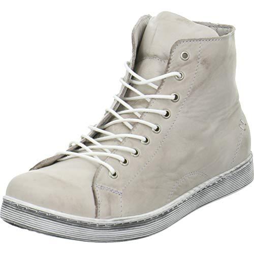 Andrea Conti 0341500066 - Damen Schuhe Freizeitschuhe - Taupe, Größe:40 EU (Schuhe Taupe Leder)