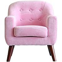 Preisvergleich für ALUK- small stool Kinder kleines Sofa, einfache Moderne Sitz, Kinderzimmer Lesehocker, Stoffsitz Bequeme Licht Mini Sofa L50cm * W48cm * H60cm