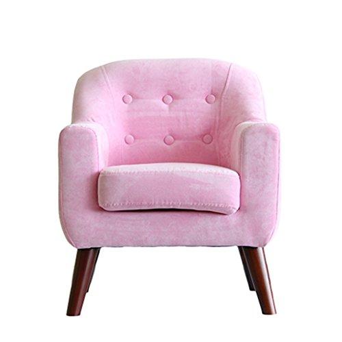 ALUK- small stool Divanetto per Bambini, Sedile Moderno Semplice, Sgabello da Lettura per Bambini, Sedile in Tessuto Comodo Mini Divano Luminoso L50cm * L48cm * H60cm