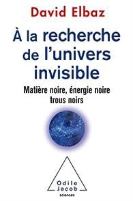 A la recherche de l'Univers invisible par David Elbaz