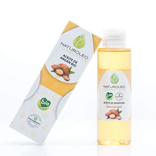 Naturoleo Cosmetics - Aceite Argán BIO - 100% Puro y Natural Ecológico Certificado - 100 ml
