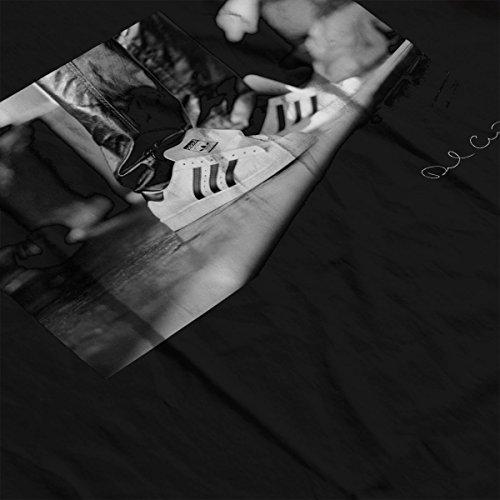 Run DMC Adidas Originals Trainers Hammersmith 1986 Women's T-Shirt Black