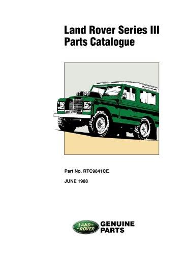 Land Rover Series III Parts Catalogue por Land Rover Ltd