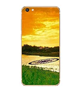 ifasho Designer Back Case Cover for Vivo X7 (Incredible India Tourism Tiger Sher )