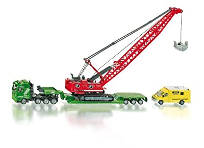 Siku 1834 - Set de camiones con grúa de juguete de SIKU