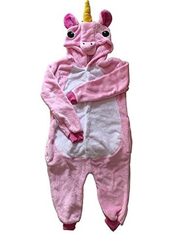 Costumes Fille Unicorn - UDreamTime Enfant Unisexe Ensemble de Pyjama motif