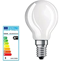OSRAM LED Tropfen 6,5 Watt E14 GlowDim dimmbar Birne Lampe Energiesparlampe PCLB